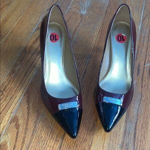 COACH Burgundy heels